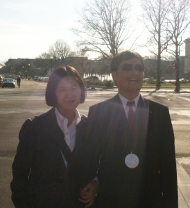Guangcheng and me in DC on Jan. 29, 2013.